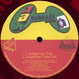 "(10"") JAH RUBBAAL - JUDGEMAN TIME / LOVE RASTA"