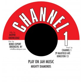 "(7"") MIGHTY DIAMONDS - PLAY ON JAH MUSIC / VERSION"