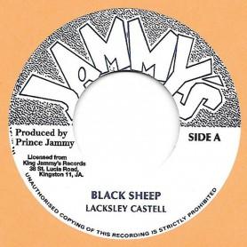 """(7"""") LACKSLEY CASTELL - BLACK SHEEP / BLACK SHEEP DUB"""