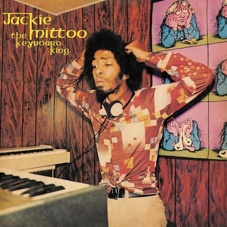 (LP) PRE-ORDER : JACKIE MITTOO - THE KEYBOARD KING
