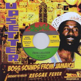 "(7"") CLIVE HYLTON - FROM CREATION / UPSETTERS - CREATION DUB"