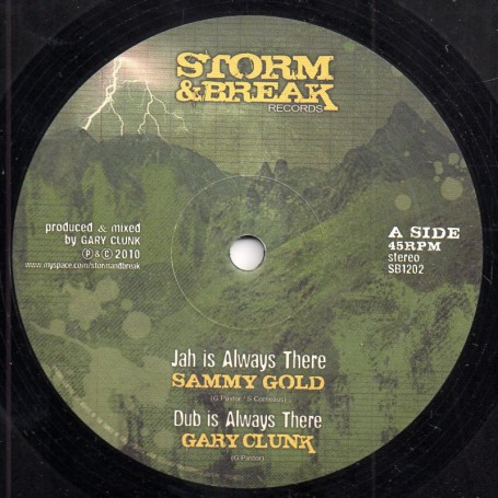"(12"") SAMMY GOLD - JAH IS ALWAYS THERE / HATMAN - HOMELAND"