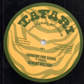 "(12"") ALBERT MALAWI - LOOKING FOR SIGNS / BRIGADIER JERRY - CONSCIOUS TIME"