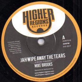 "(7"") MIKE BROOKS - JAH WIPE AWAY THE TEARS / MIGHTY PROPHET - DUB AWAY THE TEARS"