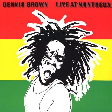 (2xLP) DENNIS BROWN - LIVE AT MONTREUX 1984