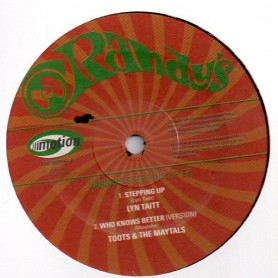 """(10"""") LYN TAITT - STEPPING UP / TOOTS & THE MAYTALS - WHO KNOWS BETTER / JABLONSKI - SOUL MAKOSSA / JIMMY LONDON - CATHY'S CLOWN"""