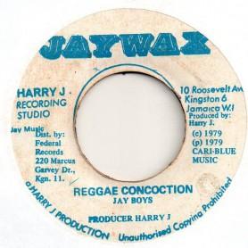 "(7"") JAY BOYS - REGGAE CONCOCTION / CONCOCTION DUB"
