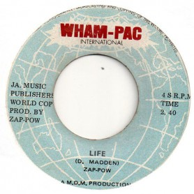 "(7"") ZAP POW - LIFE / TONIGHT WE LOVE... TONIGHT"