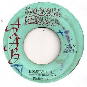 "(7"") PHILLIP TEE - HOMELY GIRL / INNER CIRCLE - VERSION"