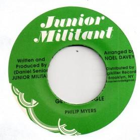 "(7"") PHILIP MYERS - GHETTO STRUGGLE / VERSION"