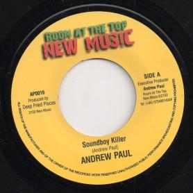 "(7"") ANDREW PAUL - SOUNDBOY KILLER"