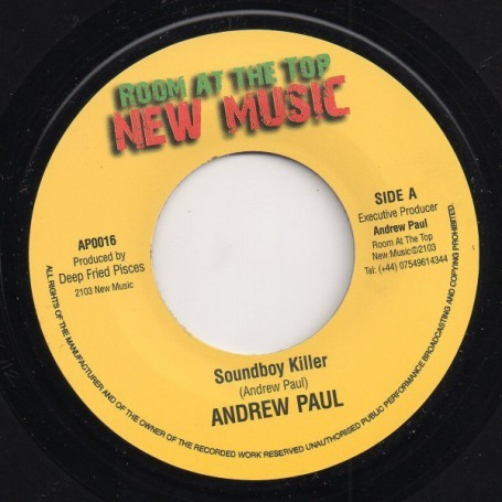 "(7"") ANDREW PAUL - SOUNDBOY KILLER"