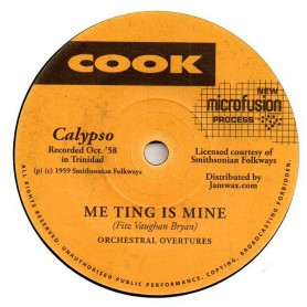 "(7"") ORCHESTRAL OVERTURES - ME TING IS MINE / WHEY YOU WANT TO TOUCH IT FOR"