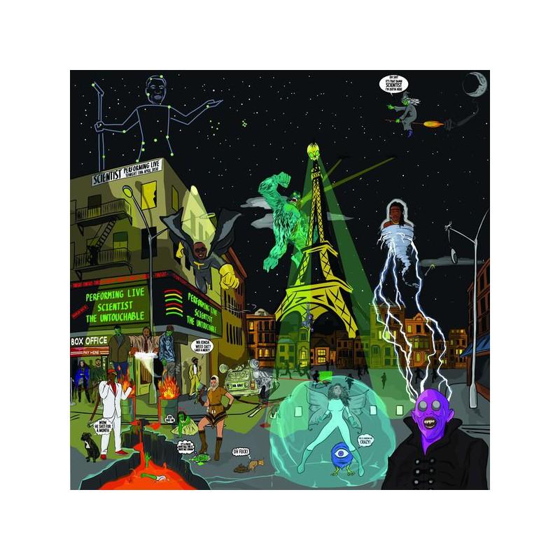 (LP) SCIENTIST IN DUB VOLUME 1 (CD Bonus)