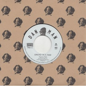 """(7"""") AUGUSTUS PABLO - DREAD IN A RED / KING TUBBY'S ROCK"""