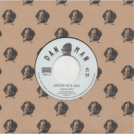 "(7"") AUGUSTUS PABLO - DREAD IN A RED / KING TUBBY'S ROCK"