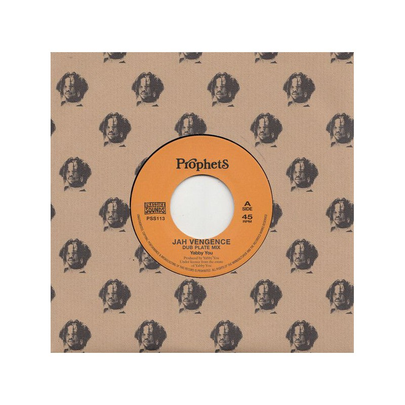 "(7"") YABBY YOU - JAH VENGEANCE (Dub Plate Mix) / VERSION"