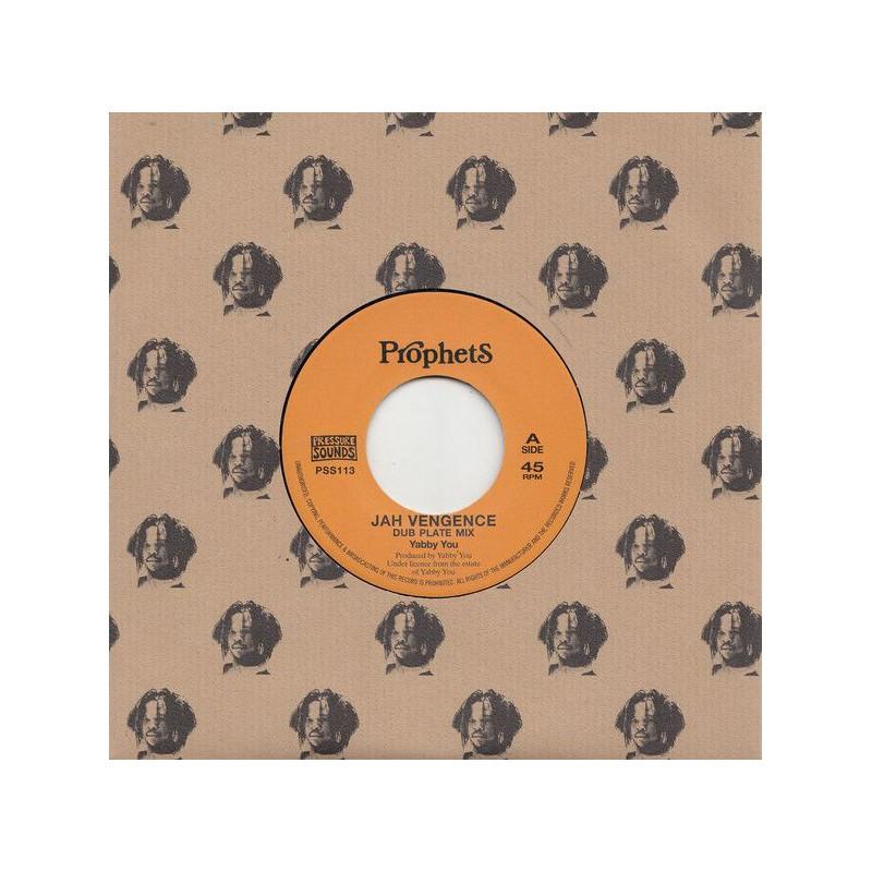 "(7"") YABBY YOU - JAH VENGEANCE (Dub Plate Mix) / VERSION"