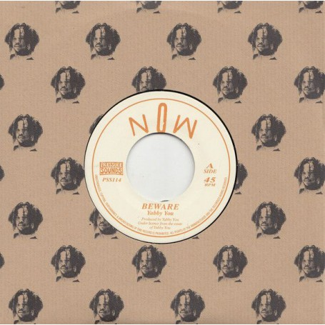 "(7"") YABBY YOU - BEWARE / LAZZY MOOD"