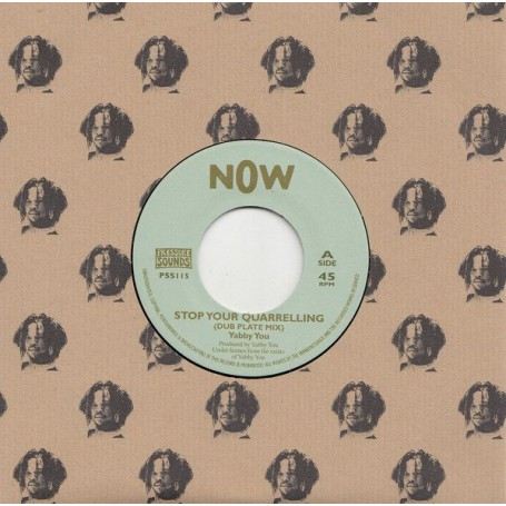 "(7"") YABBY YOU - STOP YOUR QUARRELlING (Dub Plate Mix) / VERSION"