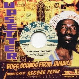 "(7"") LEE PERRY & THE SENSATIONS - SOMETHING YOU'VE GOT / VERSION"