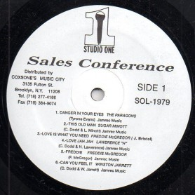 (LP) VARIOUS ARTISTS - SALES CONFERENCE