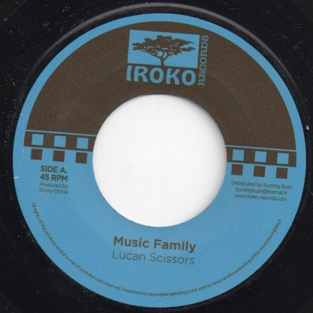 "(7"") LUCAN SCISSORS - MUSIC FAMILY"