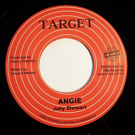 "(7"") JOLLIE STEWART - ANGIE / VERSION"