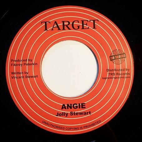 """(7"""") JOLLIE STEWART - ANGIE / VERSION"""