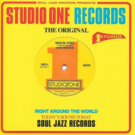 """(7"""") SOUND DIMENSION - SOULFUL STRUT / TIME IS TIGHT"""