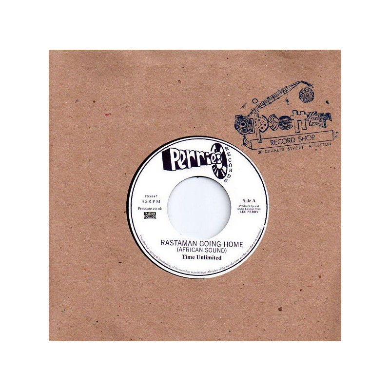 "(7"") TIME UNLIMITED - RASTAMAN GOING HOME / THE UPSETTERS - AFRICA DUB"