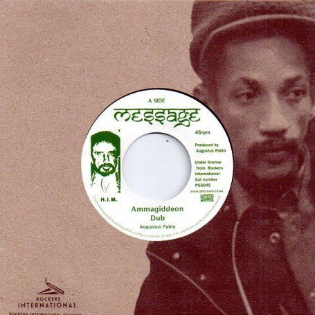 "(7"") AUGUSTUS PABLO - AMMAGIDDEON DUB / FIGHT THE WAR DUB"