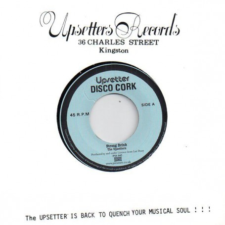 """(7"""") THE UPSETTERS - STRONG DRINK / STRONG DUB"""