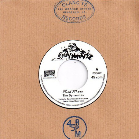 "(7"") THE DYNAMITES - RED MOON / KING TUBBY - VERSION"
