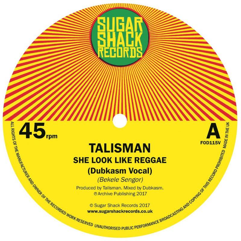 """(7"""") TALISMAN - SHE LOOK LIKE REGGAE (Dubkasm Vocal & Dub)"""