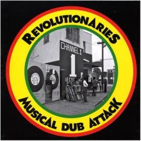 (LP) REVOLUTIONARIES - MUSICAL DUB ATTACK