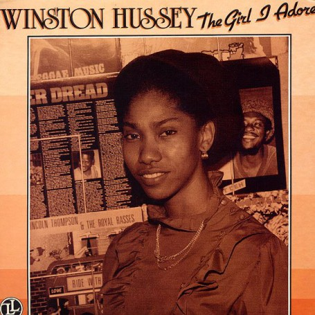 (LP) WINSTON HUSSEY - THE GIRL I ADORE