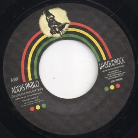 "(7"") ADDIS PABLO - ONE LOVE, ONE HEART, ONE FAMILY / ROCKERS VERSION"