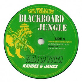 "(7"") KANDEE & JAHZZ - TAILS OF YOUTH / TAILS OF DUB"