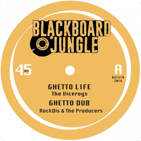 "(12"") THE VICEROYS - GHETTO LIFE / NISH WADADA - TAFARI"