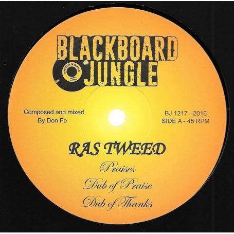 """(12"""") RAS TWEED - PRAISES / JACKO - FARMER SONG"""