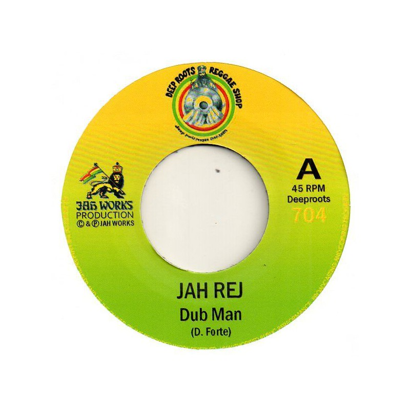 "(7"") JAH REJ - DUB MAN / DUB MAN DUB"