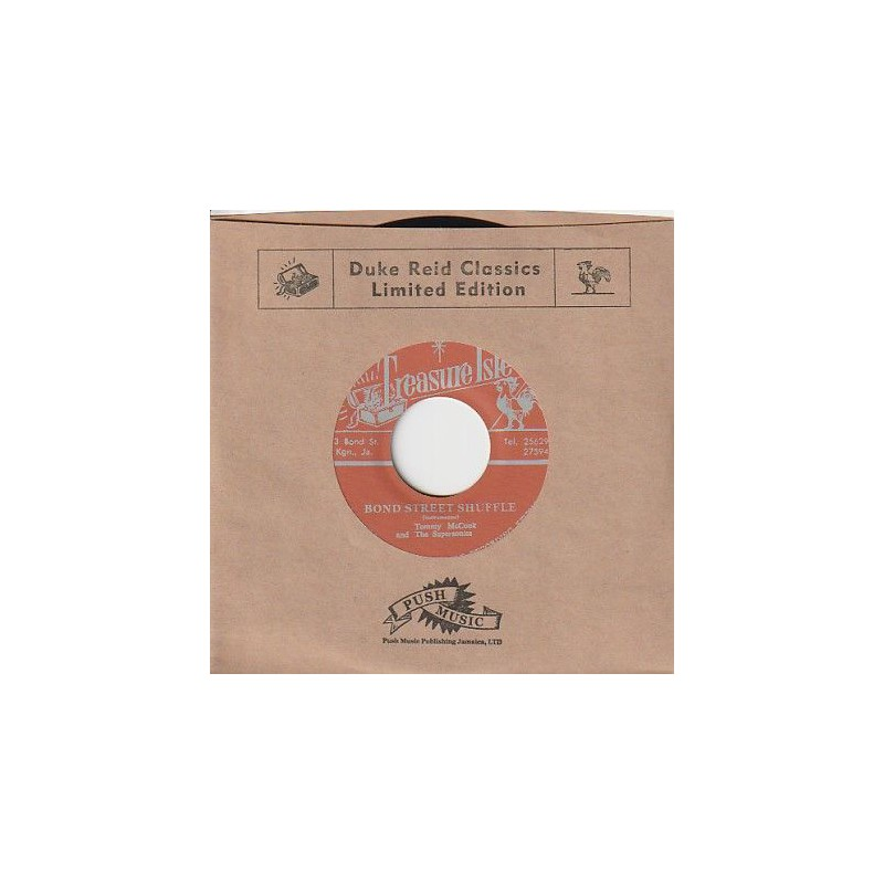"(7"") TOMMY McCOOK & THE SUPERSONICS - BOND STREET SHUFFLE / THE SENSATIONS - BLESS YOU"