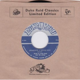 "(7"") DUKE REID & HIS GROUP - JOANNIE, I NEED YOU / ROLAND ALPHONSO - YOU CAN DEPENDS ON ME"