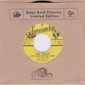 """(7"""") ALTON ELLIS & THE FLAMES - CRY TOUGH / CAROL WITH TOMMY McCOOK & THE SUPERSONICS - MR SOLO"""
