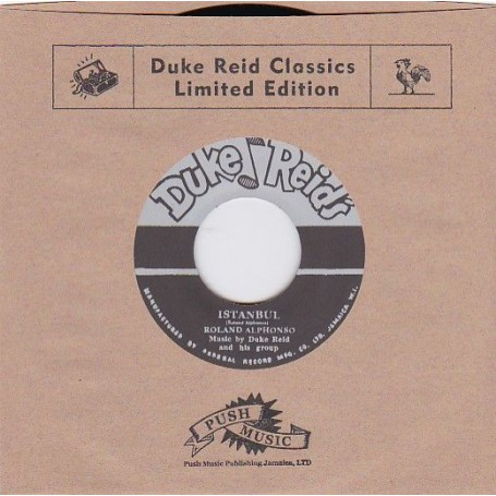 "(7"") ROLAND ALPHONSO - ISTANBUL / ERIC MONTY MORRIS - MARY HAD A LITTLE LAMB"