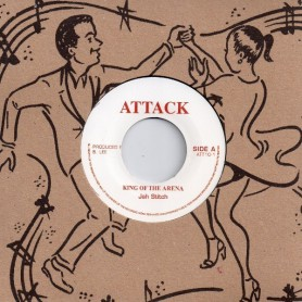 """(7"""") JAH STITCH - KING OF THE ARENA / VERSION"""