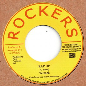 "(7"") TETRACK - RAP UP / PABLO LEVI & CLEVE - THREE IN ONE"