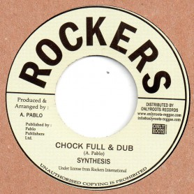 "(7"") SYNTHESIS - CHOCK FULL & DUB / VERSION"