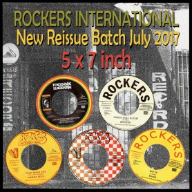 (LOT) ROCKERS INTERNATIONAL JULY 2017 RELEASES : 5 x 7 inch